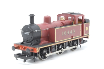 R052-3F-PO27 Class 3F Jinty 0-6-0T 16440 in LMS Maroon - Pre-owned - glue mark on front buffer, noisy runner, imperfect box
