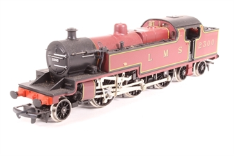 R055-PO01 Class 4P 2-6-4T 2300 in LMS Maroon - Pre-owned - Noisy Runner - Imperfect box