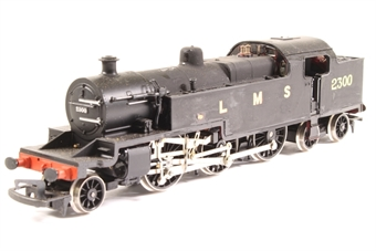 R055-PO08 Class 4P 2-6-4T 2300 in LMS Black - Pre-owned - renumbered and repainted, imperfect box