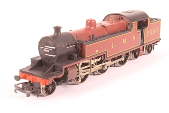 R055-PO11 Class 4P 2-6-4T 2300 in LMS Maroon - Pre-owned - includes Crown Line conversion pack - jerky runner - replacement box