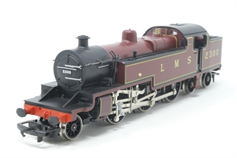 R055-PO18 Class 4P 2-6-4T 2300 in LMS Maroon - Pre-owned - noisy runner, imperfect box