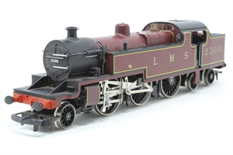 R055-PO19 Class 4P 2-6-4T 2300 in LMS Maroon - Pre-owned - sold as seen, non runner, DCC Fitted, replacement box