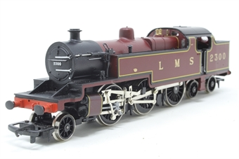 R055-PO21 Class 4P 2-6-4T 2300 in LMS Maroon - Pre-owned - sold as seen - Non-runner - Body loose from chassis - Imperfect box