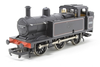 R058-PO13 Class 3F Jinty 0-6-0T 47458 in LMS Black - Pre-owned - LMS logo added to one side, logo scratched off on other side, noisy runner, missing buffer, replacement box