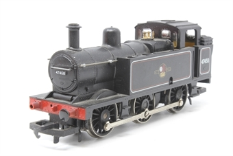 R058-PO17 Class 3F Jinty 0-6-0T 47458 in BR Black - Pre-owned - missing two buffers - imperfect box