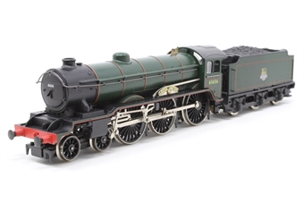R060-B17-PO05 B17 Class 4-6-0 'Leeds United' 61656 in BR Green - Pre-owned - missing front coupling, tender permanently attached, imperfect box