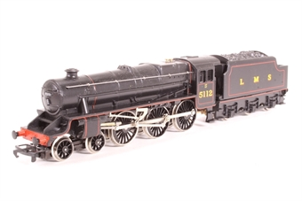 R061-PO02 Class 5 'Black 5' 4-6-0 5112 in LMS Black - Pre-owned - noisy runner