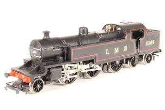 R062-4P-PO01 Class 4P 2-6-4T 2308 in LMS Black - Pre-owned - renumbered - repainted - reliveried