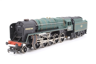 R065-PO31 Class 9F 2-10-0 'Evening Star' 92220 in BR Green - Pre-owned - body loose from tender -  ladder loose from tender - dented smoke deflector - imperfect box