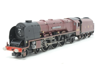 R066-PO38 Duchess Class 4-6-2 'Duchess of Sutherland' 6233 in LMS Maroon - Pre-owned - replacement box