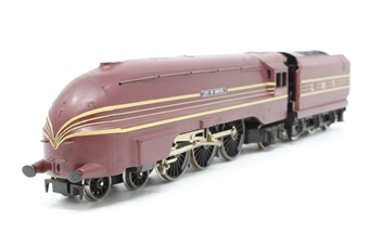 R072-6237-PO03 Class 8P Coronation 4-6-2 6237 'City of Bristol' in LMS Crimson Lake - Pre-owned - minor marks onbody - imperfect box