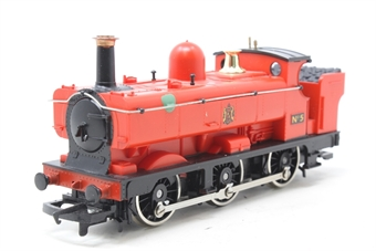 R073A-PO Class 2721 0-6-0PT No.5 in Red - Pre-owned - paint mark on sides, noisy runner, replacement box