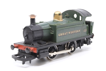 R077-PO29 Class 101 Holden 0-4-0T 101 in GWR Green - Pre-owned - paint wear on dome - replacement box