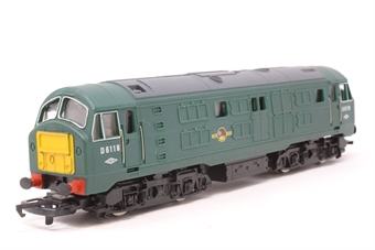 R080-Class29-PO18  Class 29 D6116 in BR Green - Pre-owned - renumbered - replacement box
