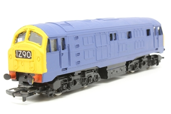 R080-Class29-PO21 Class 29 in Blue- Pre-owned - repainted- decals removed - poor runner- imperfect box