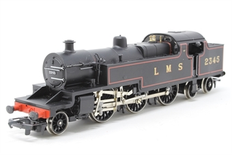 R088-PO03 Class 4P 2-6-4T 2345 in LMS Black - Pre-owned - noisy runner in reverse