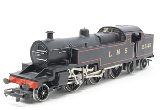 R088-PO05 Class 4P 2-6-4T 2345 in LMS Black - Pre-owned - noisy runner, imperfect box