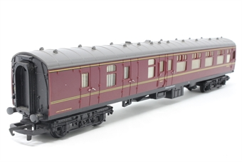 R1007BSK-PO Mk.1 Corridor Brake 2nd E34160 in BR Maroon - split from train set - Pre-owned - replacement box