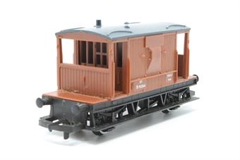 R1017Brake-PO02 Brake Van B952564 in BR Bauxite - split from train set - Pre-owned - replacement box