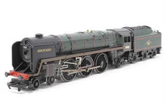R1021loco-PO02 Britannia Class 7MT 70012 'John of Gaunt' - Split from R1021M set - Pre-owned - DCC fitted, poor runner, replacement box