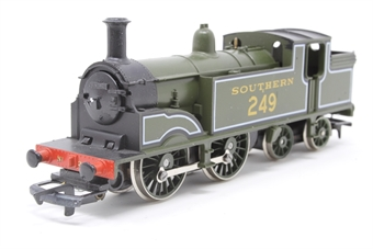 R103-PO07 M7 Class 0-4-4T 249 in Maunsell Olive Green - Pre-owned - wobbles when running