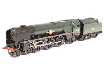 R1038loco-PO02 Class 8P 'Merchant Navy' 4-6-2 35012 'United States Lines' in BR green - split from premier box set - Pre-owned - replacement box