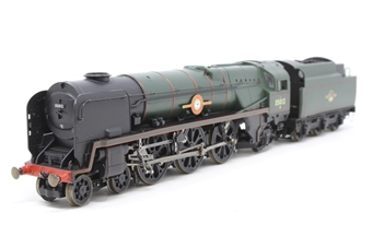R1038loco-PO09 Class 8P 'Merchant Navy' 4-6-2 35012 'United States Lines' in BR green - split from premier box set - Pre-owned - imperfect box