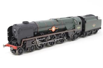 R1038loco-PO11 Class 8P 'Merchant Navy' 4-6-2 35012 'United States Lines' in BR green - split from premier box set - Pre-owned - Like new