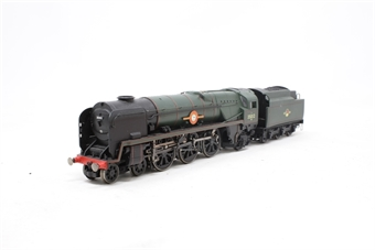 R1038loco-PO13 Class 8P 'Merchant Navy' 4-6-2 35012 'United States Lines' in BR green - split from premier box set - Pre-owned - Like new in drawer box