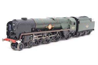 R1038loco-PO14 Class 8P 'Merchant Navy' 4-6-2 35012 'United States Lines' in BR green - split from premier box set - Pre-owned - Like new