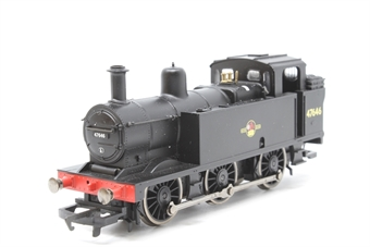 R1075Jinty-PO02 Class 3F Jinty 0-6-0 tank loco 47646 in BR black with late crest (DCC on board. Unboxed) - Pre-owned - replacement box