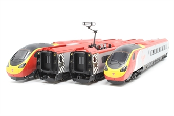 R1076EMU-PO04 Class 390 'Pendolino' EMU 390012 in Virgin Trains Livery (DCC fitted) - separated from set - Pre-owned - replacement box