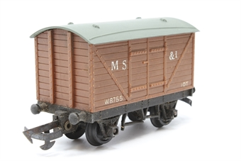 R11B-PO01 B.R Ventilated Van 'MS&L' W8755 - Pre-owned - detailed with decals - worn on one side - imperfect box
