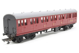 R121suburban-PO Suburban Composite M41006 in BR Maroon - Pre-owned - minor marks to body, replacement box