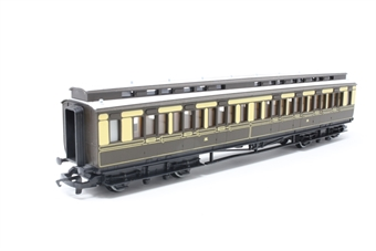 R122-PO20 Clerestory Composite 1602 in GWR Chocolate & Cream - Pre-owned - minor marks on roof, imperfect box