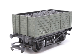 R13-PO01 Open Wagon With Coal Load 1005 - Pre-owned - weathered