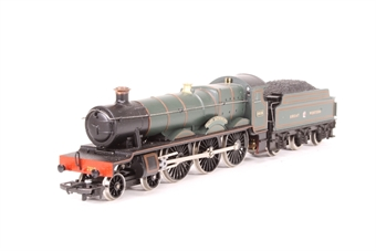 R141-Saint-PO03 Class 29xx 4-6-0 2918 'Saint Catherine' in GWR Green - Pre-owned - Driving wheels jammed, marks on top of boiler