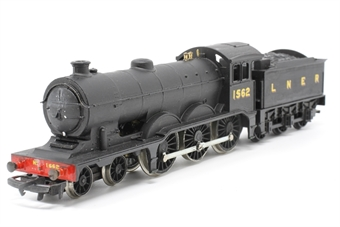 R150-B12-PO08 Class B12 4-6-0 1562 in LNER Matt Black - Pre-owned - renumbered and reliveried - incorrect box