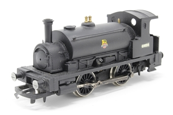 R150-PO02 Class 0F 'Pug' 0-4-0 69894 in BR Black - Pre-owned - renumbered, Missing smoke box door handle, imperfect box