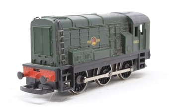 R156-Class08-PO21 Class 08 Shunter 13012 in BR Green - Pre-owned - DCC fitted - marks on sides, replacement box