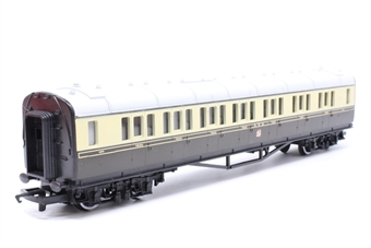 R159B-PO08 Composite Coach 6050 in GWR Chocolate & Cream - Pre-owned - Like new - imperfect box