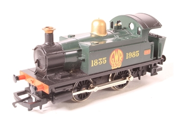 R173 Class 101 Holden 0-4-0T 101 'GWR 150' in GWR Green