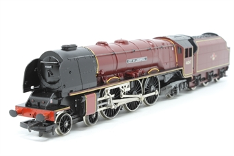 R194-PO04 Duchess Class 4-6-2.46247 'City of Liverpool' in BR Maroon - Pre-owned - worn traction tyres - imperfect box