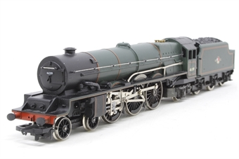 "R196Hornby-PO02 Princess class 4-6-2 46209 ""Princess Beatrice"" in BR Green - Pre-owned - replacement box"