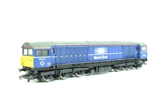 R2011c Class 58 58042 'Petrolea' in Mainline Blue