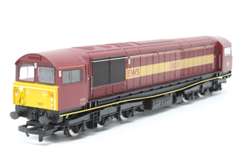 R2034-PO05 Class 58 58037 in EWS Maroon - Pre-owned - Like new