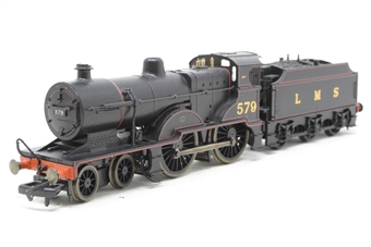 R2099A-PO06 Class 2P 4-4-0 579 in LMS Lined Black - Pre-owned - Like new
