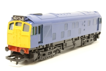 R2121-PO06 Class 25 in unnumbered BR Blue - Pre-owned - reliveried - repainted- imperfect box