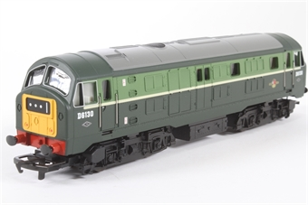 R2122 Class 29 D6130 in BR Two-Tone Green