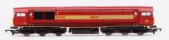 R2125 Class 58 58047 in EWS Livery